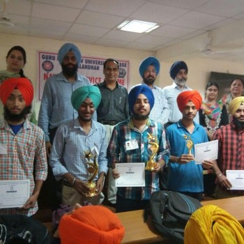 GNDU_COLLEGE_Turban_competition_2018 1